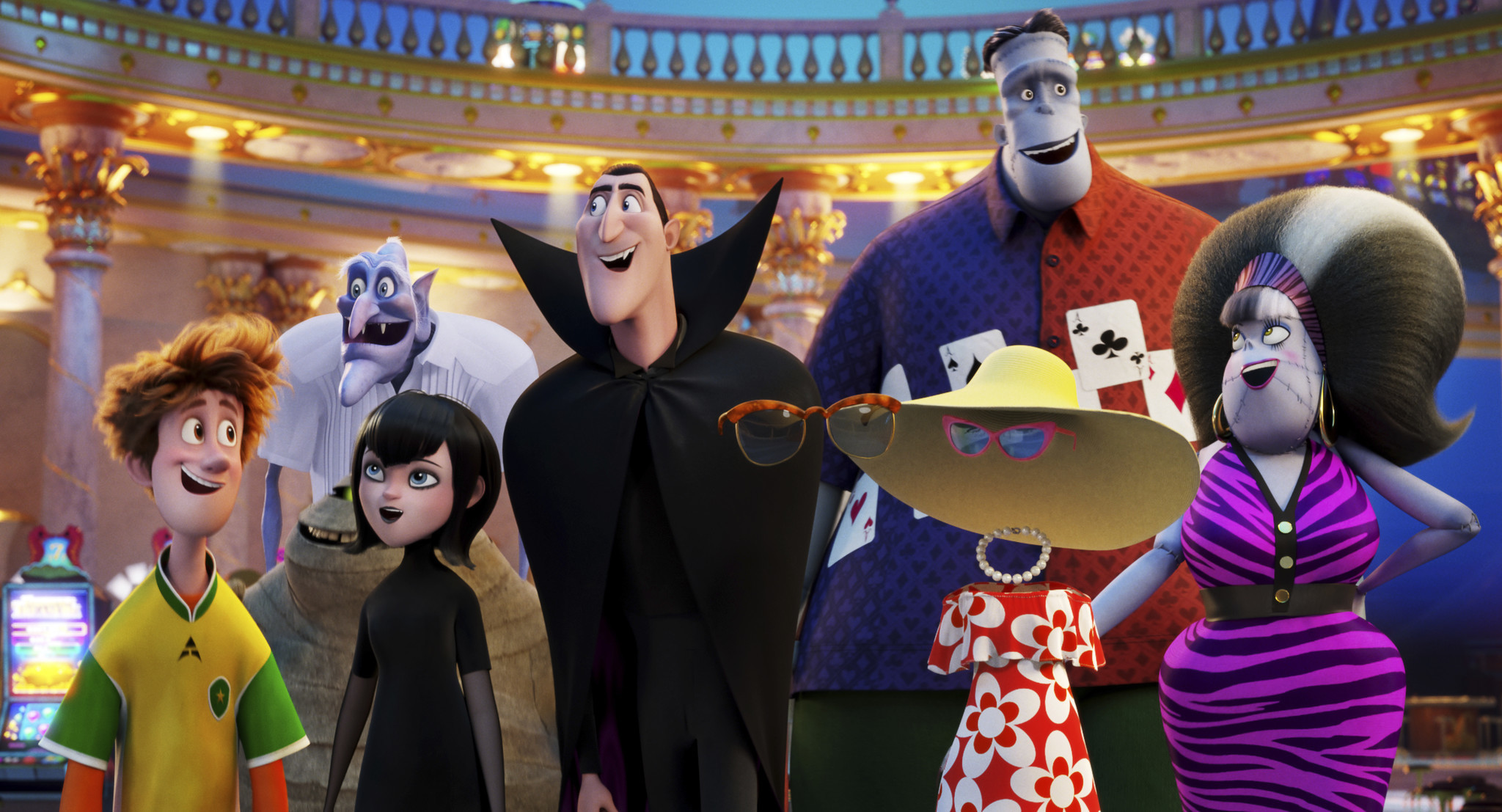 Hotel Transylvania 3 Summer Vacation Screen Zealots